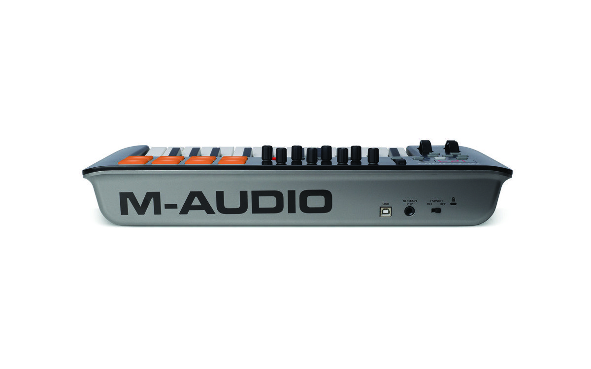 Midi контроллер клавиатура M-Audio Oxygen 25 [4th Generation]
