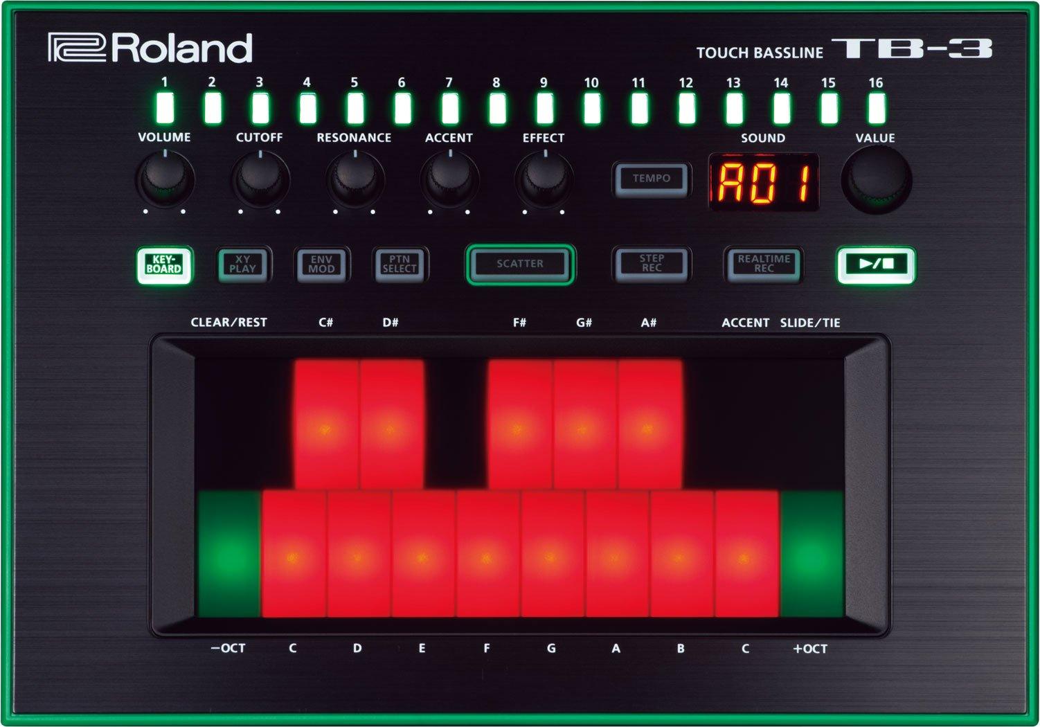 �������������� ��� DJ Roland TB-3