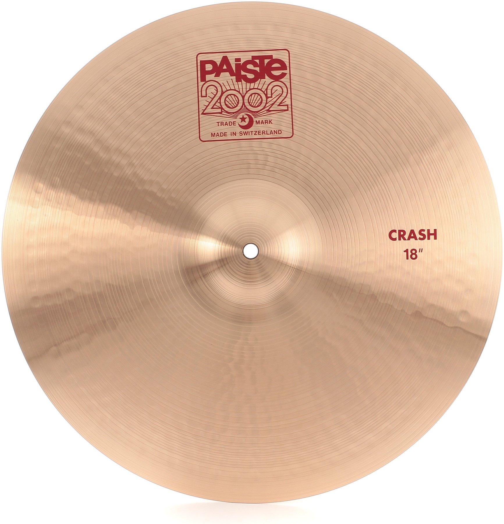 Тарелка для ударных Paiste  18 2002 CRASH