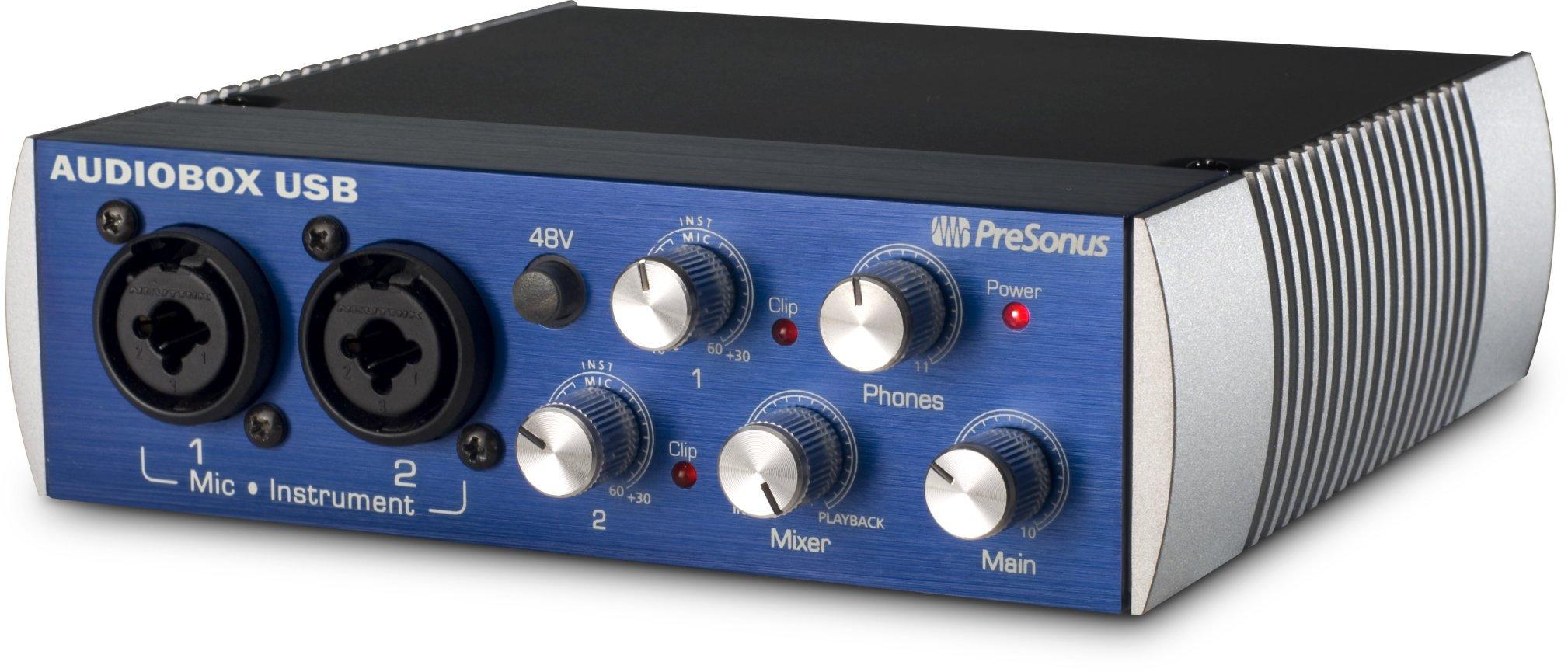 Аудиоинтерфейс Presonus AudioBox USB