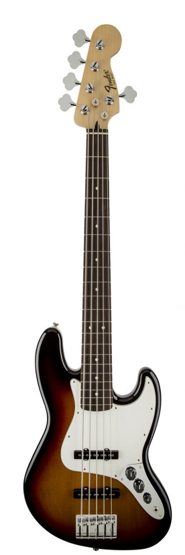 Бас гитара Fender Standard JB V Brown Sunburst