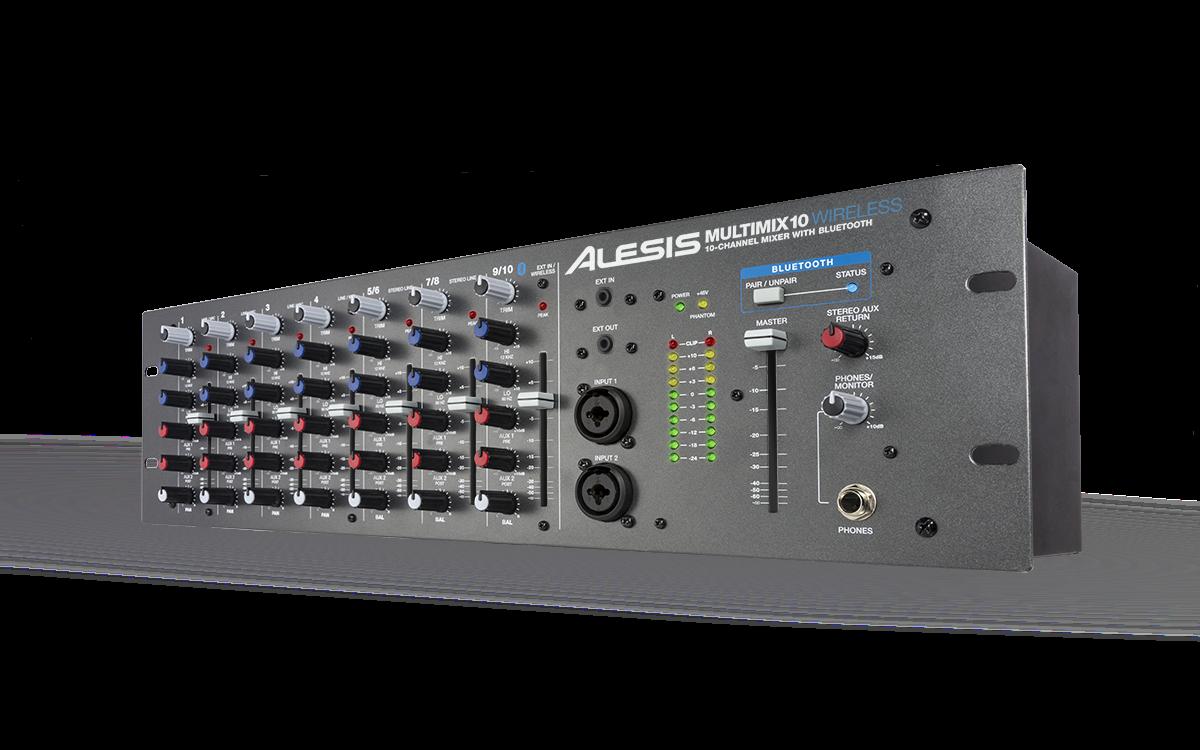 Аналоговый микшер Alesis Multimix 10 Wireless