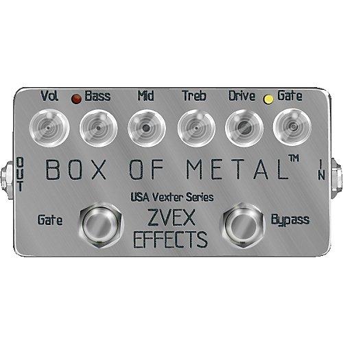 ������ �������� Zvex US Vexter box of metal