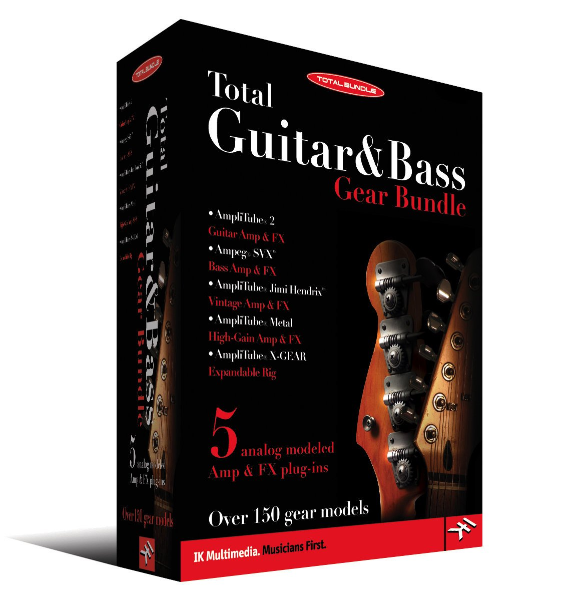 IK Multimedia Total Guitar & Bass Gear Bundle