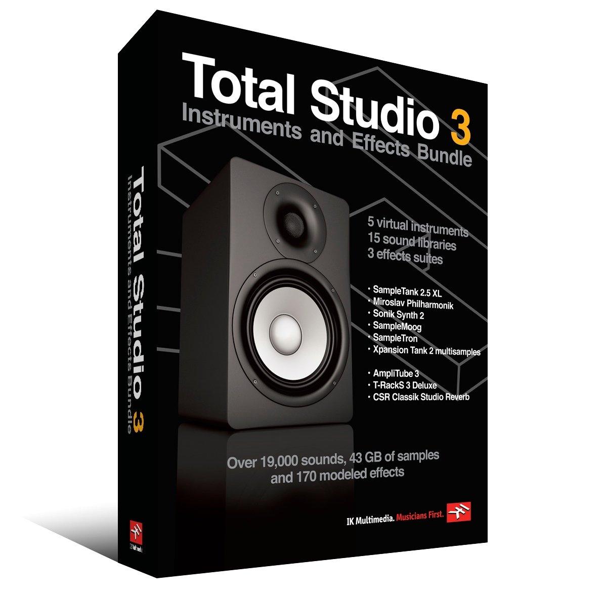 IK Multimedia Total Studio Bundle 3