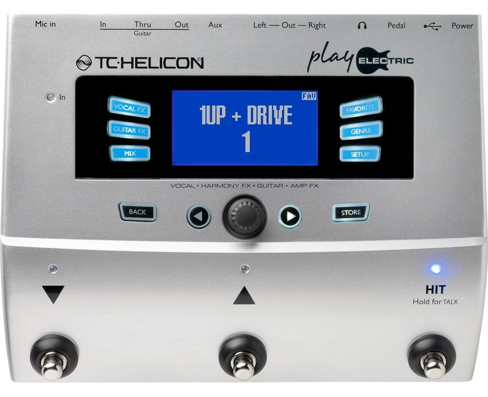 Процессор TC Helicon Play Electric