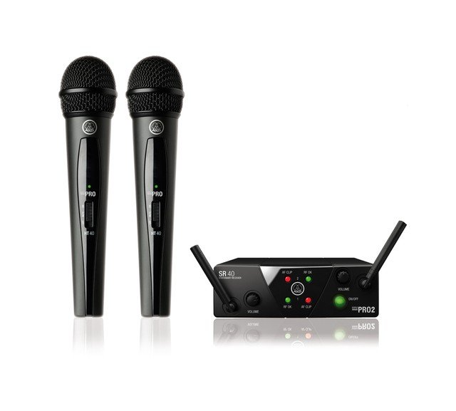 Радиосистема AKG WMS40 Mini2 Vocal Set BD ISM2/3 (864.375&864.850)