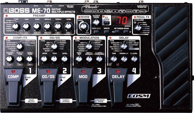 Процессор эффектов Boss ME-70