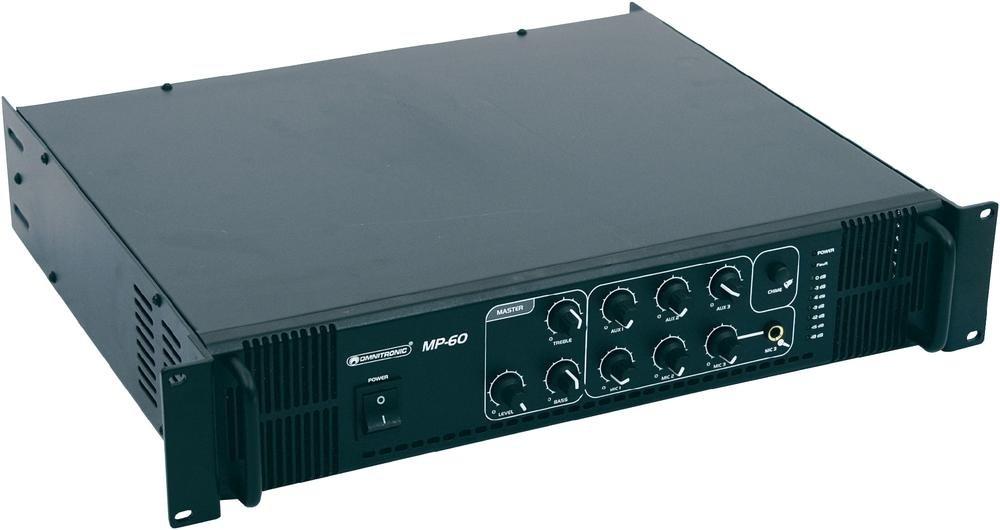 ������ �� ���������� ���������� Omnitronic MP-120 PA