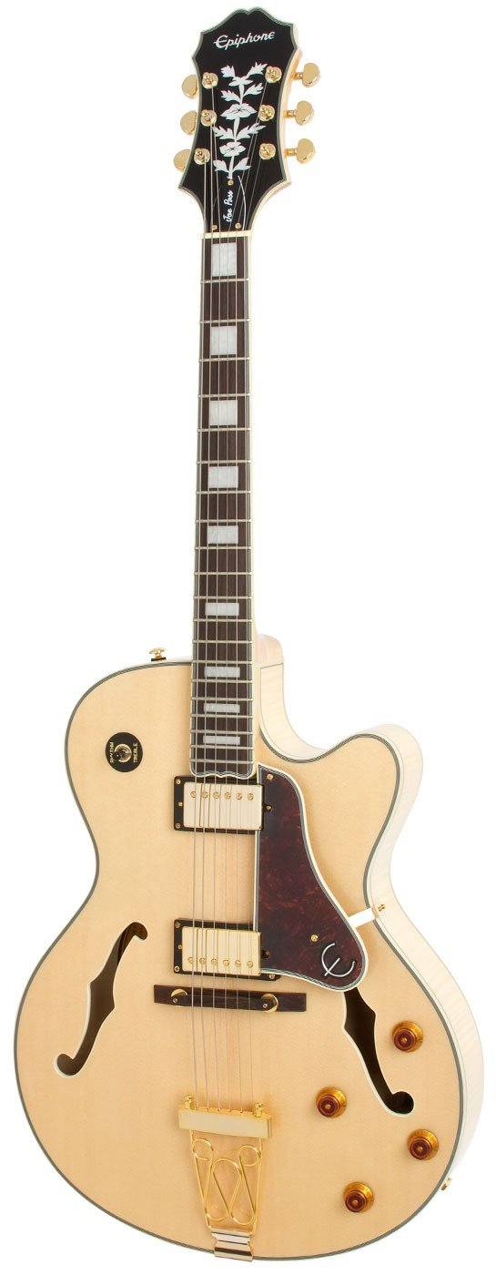Полуакустическая электрогитара Epiphone Joe Pass Emperor II - Natural
