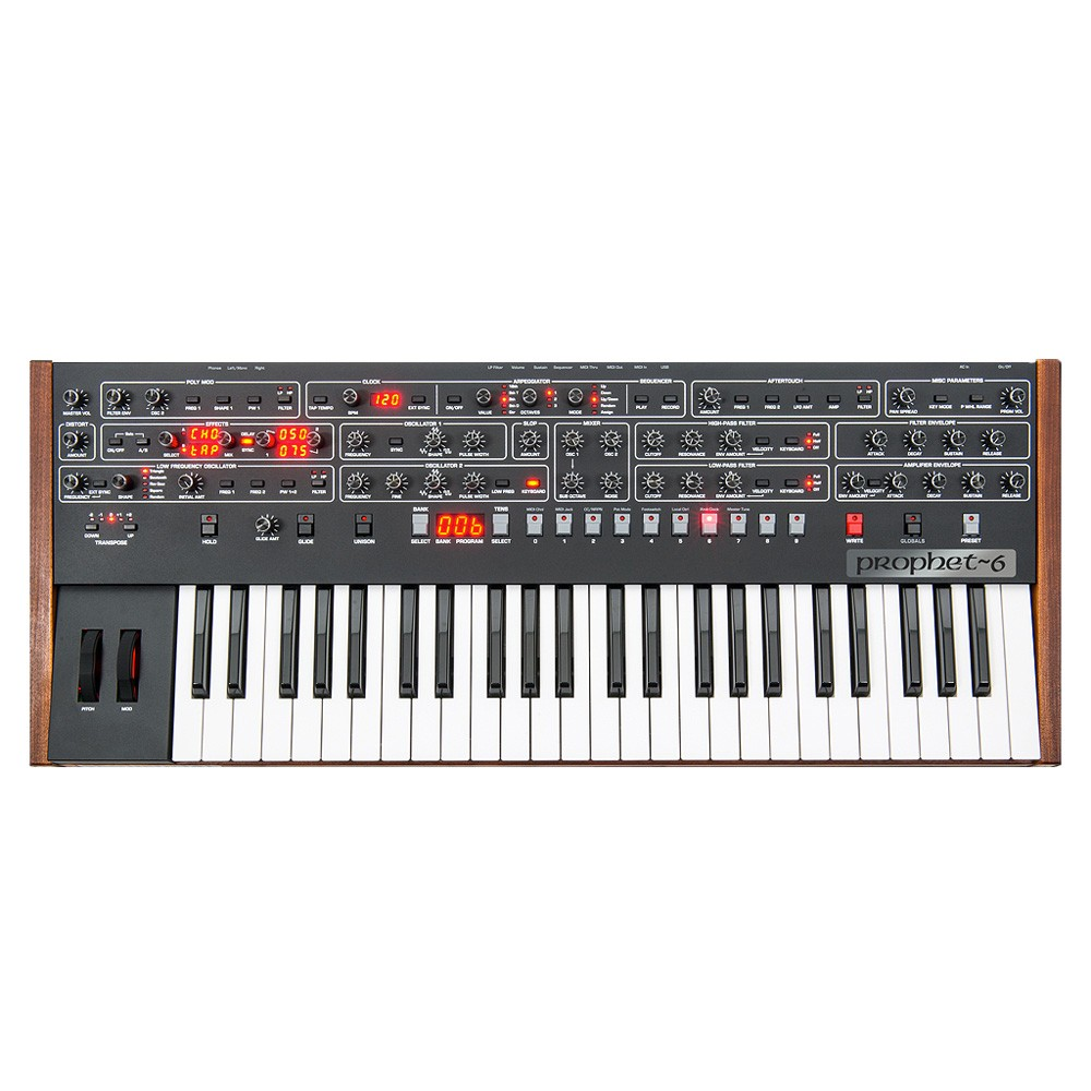 Dave Smith Instruments Sequential Prophet-6 Keyboard