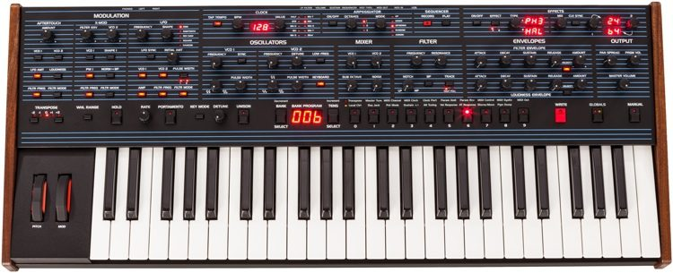 Dave Smith Instruments Sequential OB-6 Keyboard