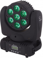Linly Lighting LL-M34 7х12w 6in1 led mini wash