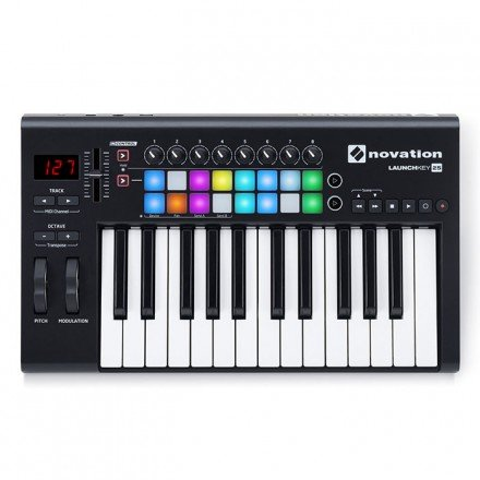 Novation Launchkey 25 MK2 контроллер USB/MIDI