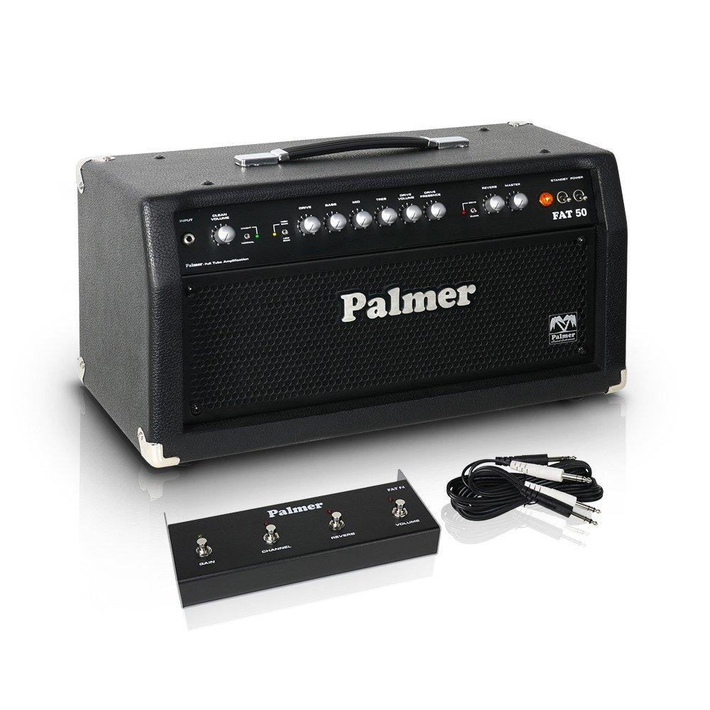 Гитарный усилитель Palmer FAT 50 H - Tube Guitar Head 50 W PFAT50H