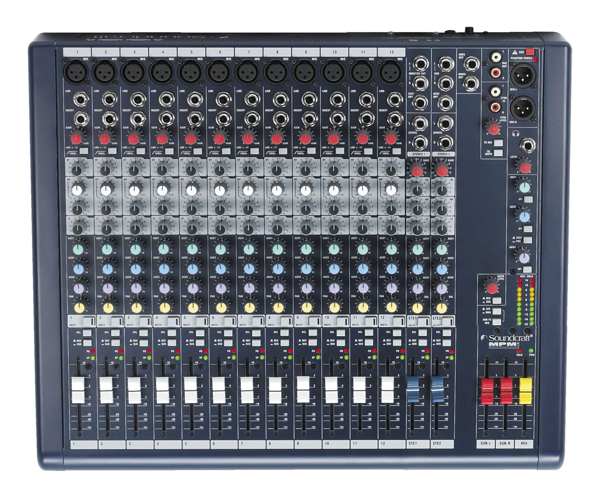 ���������� ������ Soundcraft MPMi12